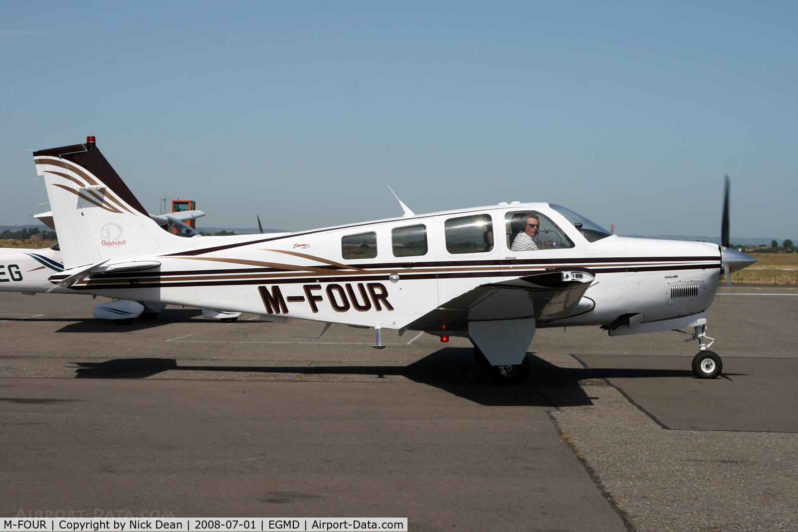 M-FOUR, Beechcraft A36 C/N E-3541, /
