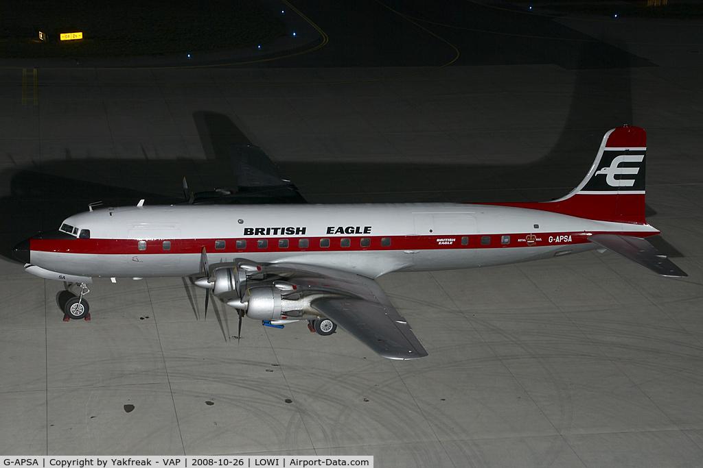 G-APSA, 1958 Douglas DC-6A C/N 45497, DC6