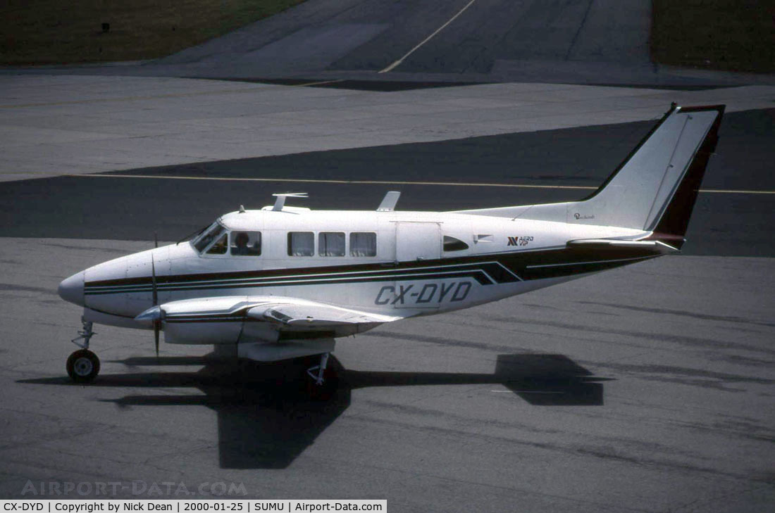 CX-DYD, Beech Queen Air C/N Not found, Taken on my first trip to MVD chasing after Lear 25 CX-ECO