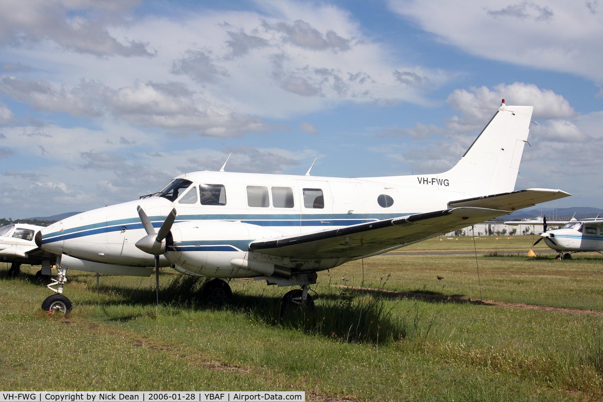 VH-FWG, 1968 Beech A65-8200 Queen Air C/N LC-298, /