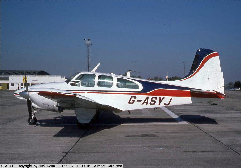 G-ASYJ, 1964 Beech D95A Travel Air C/N TD-595, /