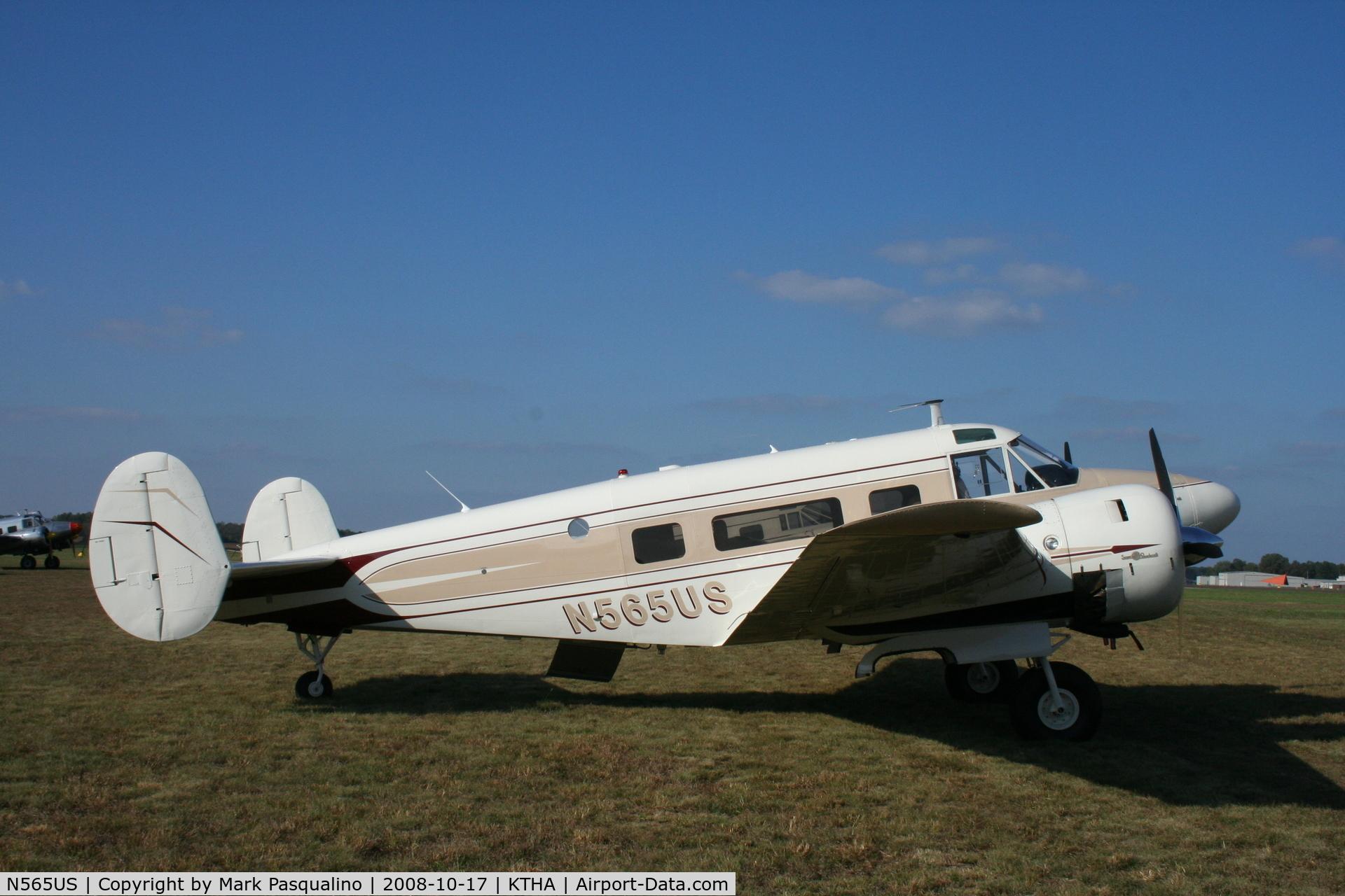 N565US, 1959 Beech G18S C/N BA-469, Beech G18S