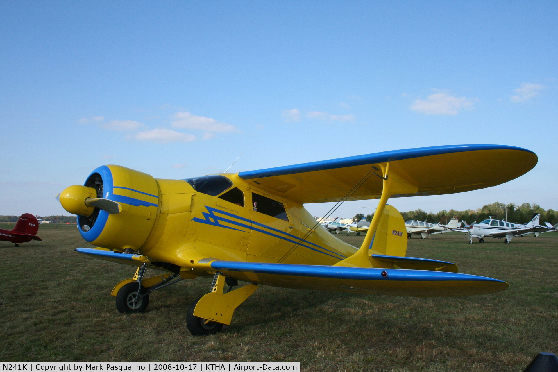 N241K, 1939 Beech D17S Staggerwing C/N 287, Beech D17S