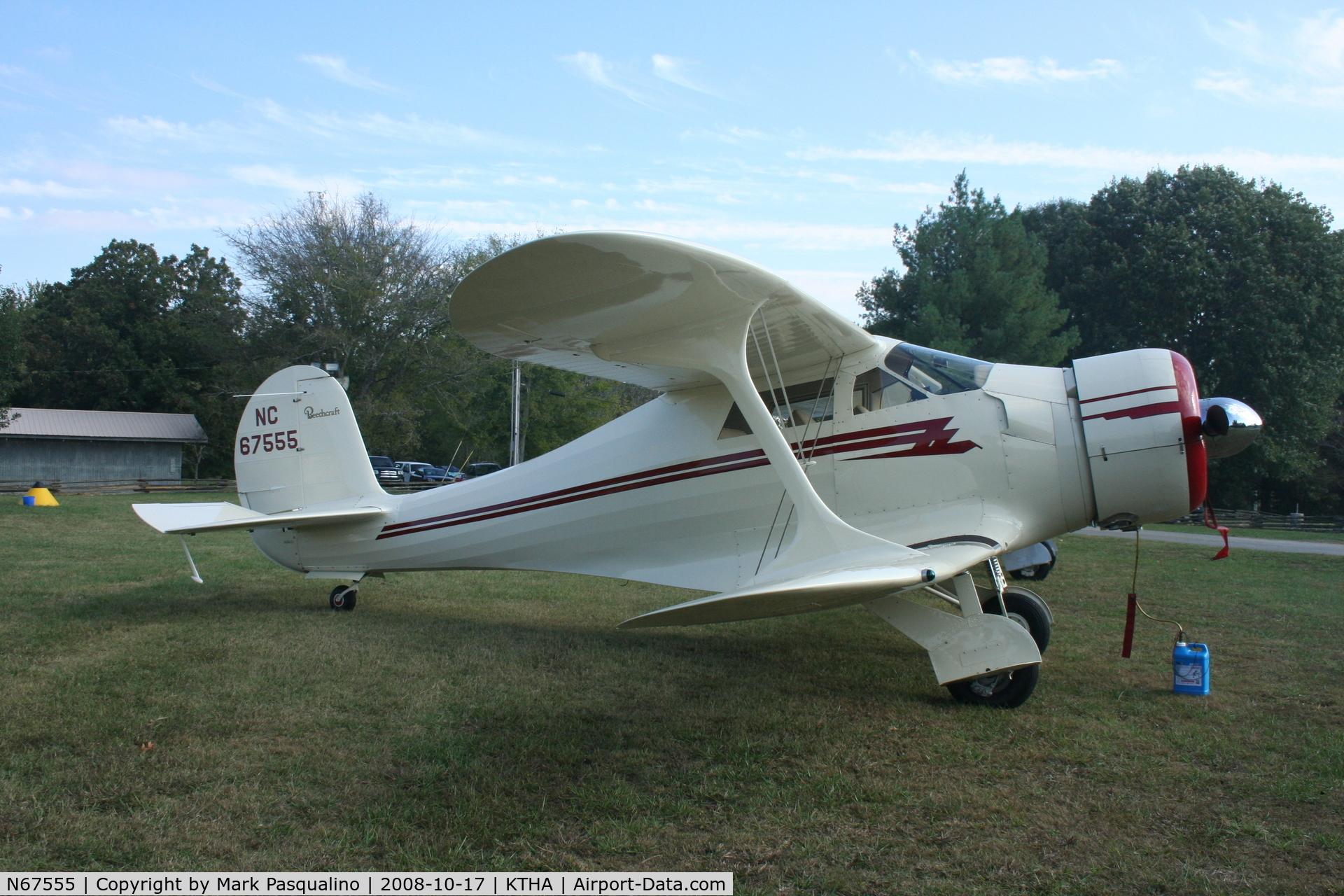 N67555, 1944 Beech D17S Staggerwing C/N 6876, Beech D17S