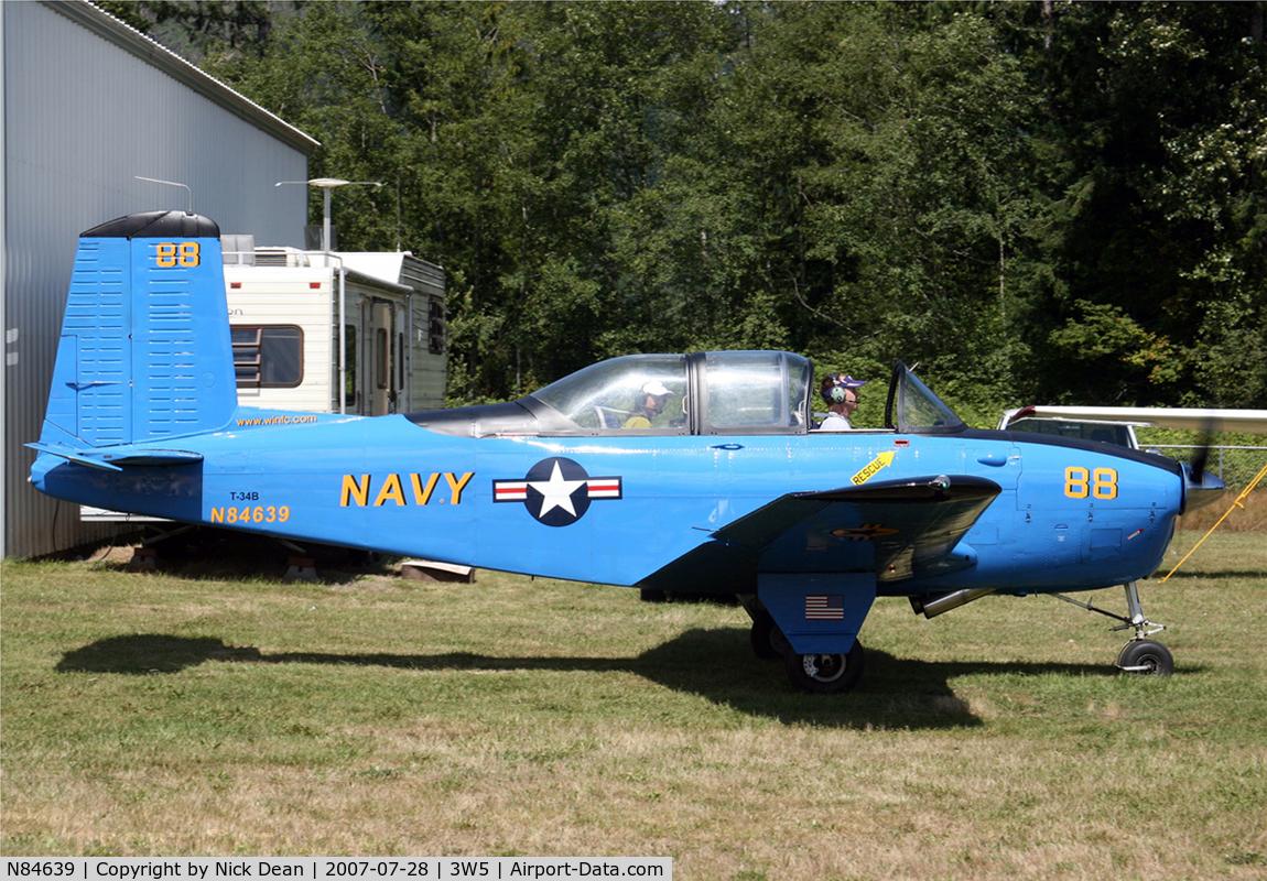 N84639, 1956 Beech D-45 Mentor C/N BG-241, /