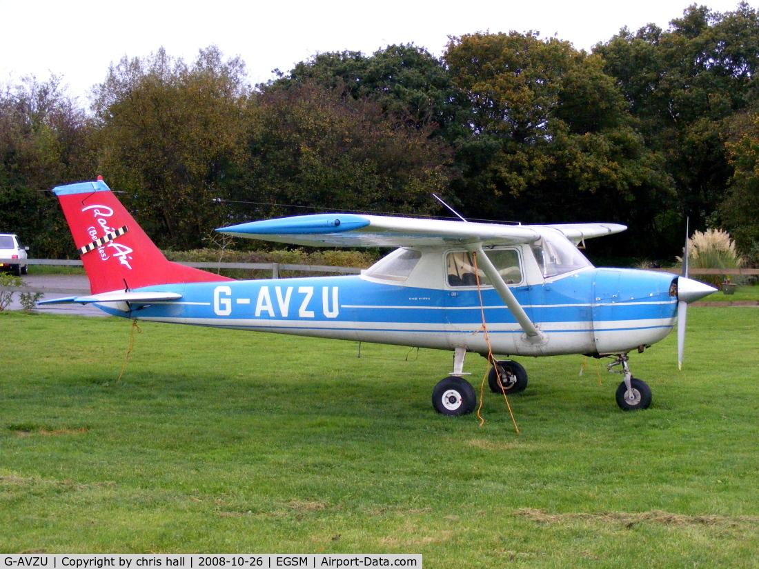 G-AVZU, 1967 Reims F150H C/N 0283, RAINAIR