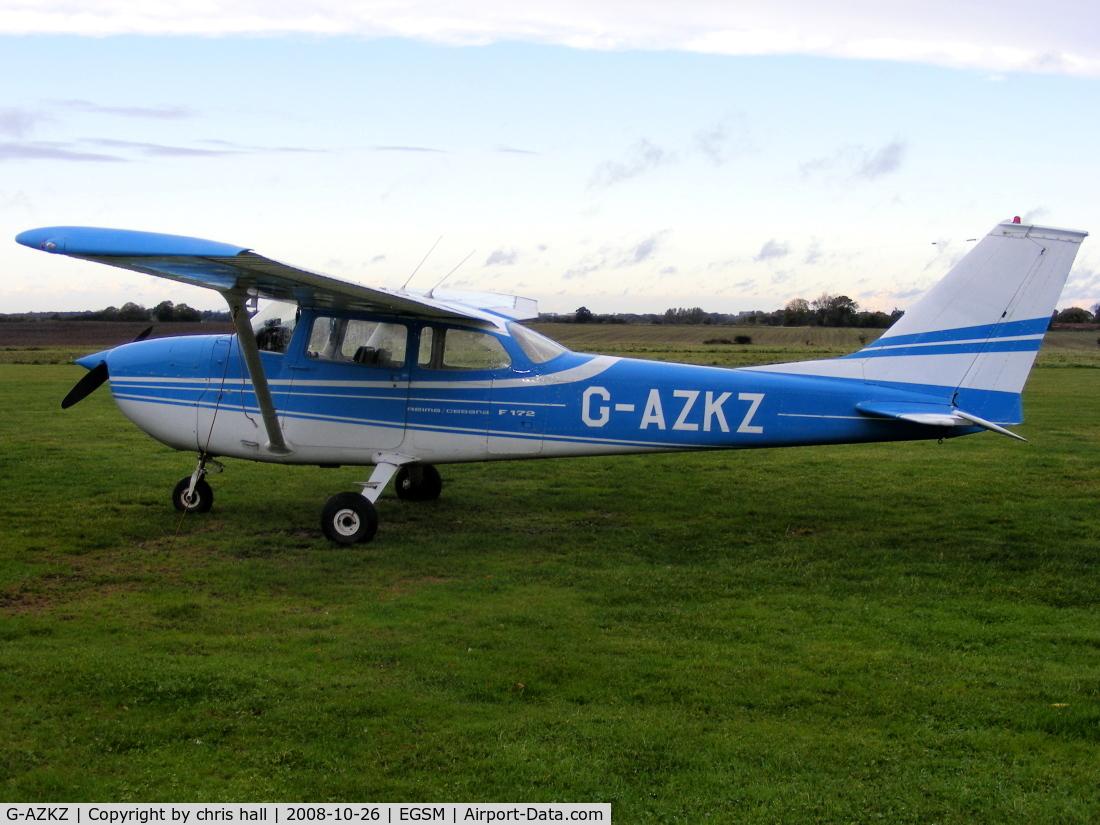 G-AZKZ, 1972 Reims F172L Skyhawk C/N 0814, RAINAIR