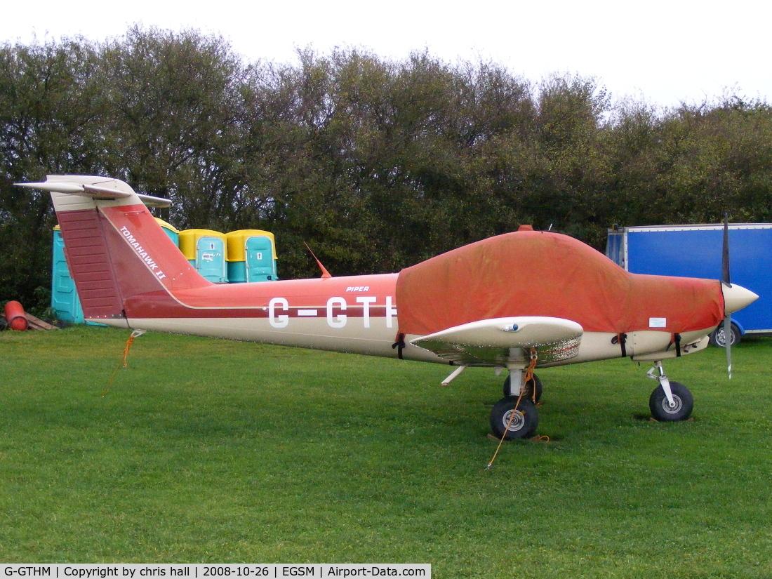 G-GTHM, 1981 Piper PA-38-112 Tomahawk Tomahawk C/N 38-81A0171, Previous ID: C-GTHM