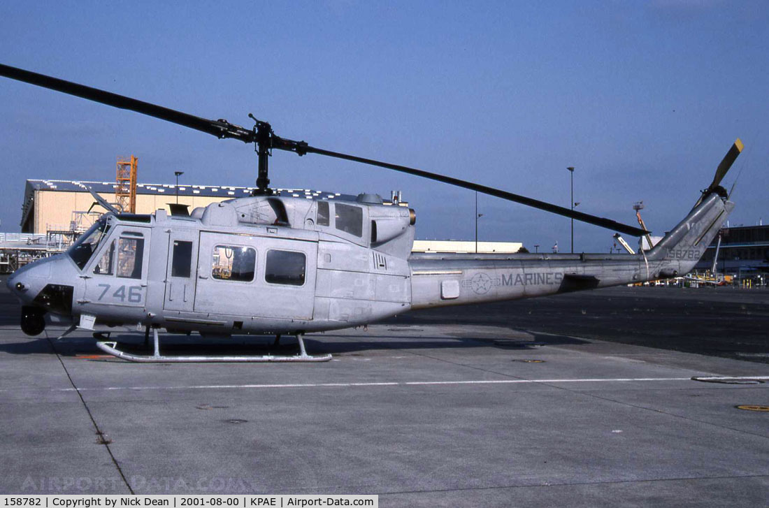 158782, Bell UH-1N Iroquois C/N 31658, /
