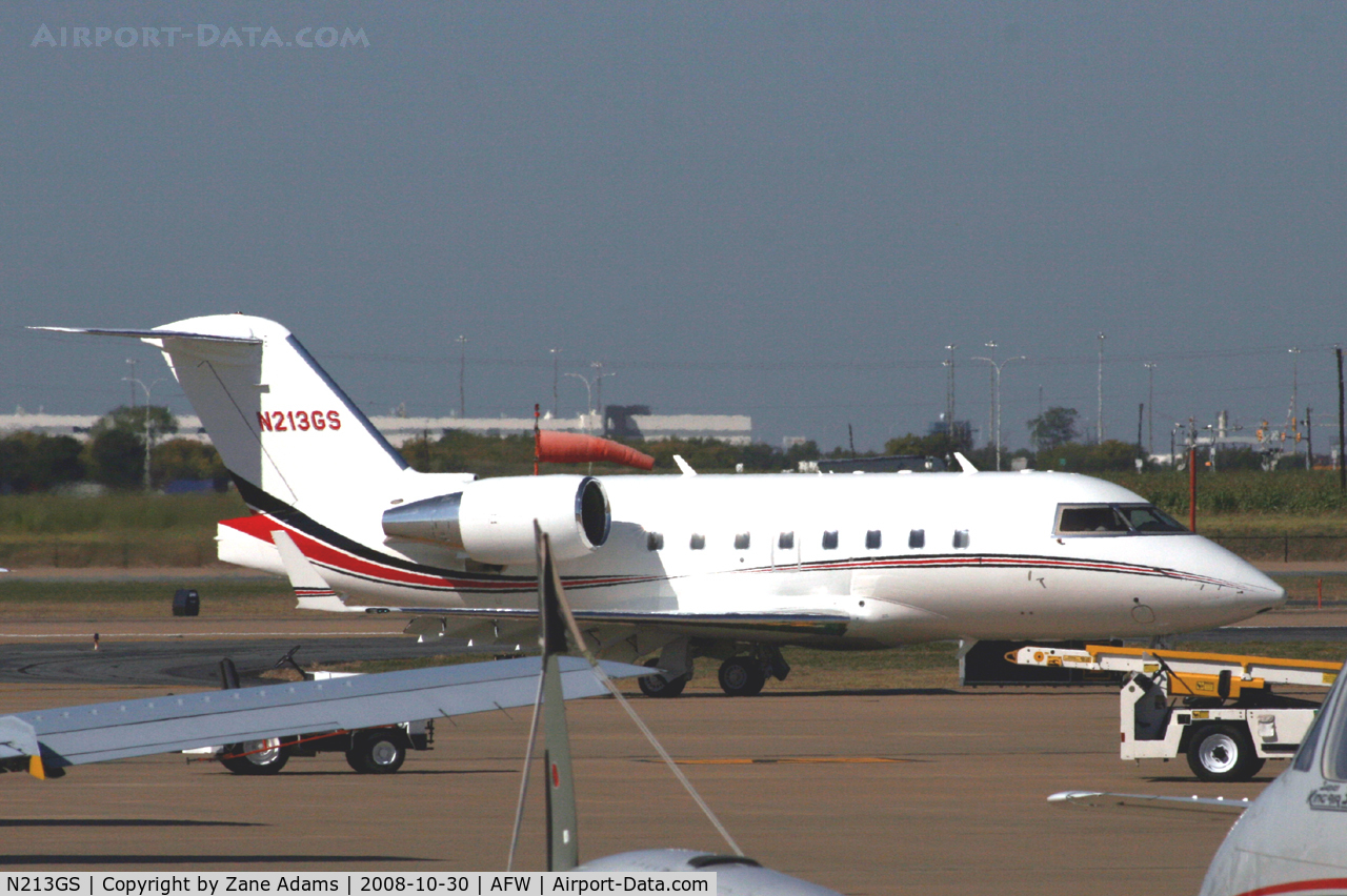 N213GS, 1991 Canadair CL-600-2B16 Challenger 601-3A C/N 5101, At Alliance - Fort Worth