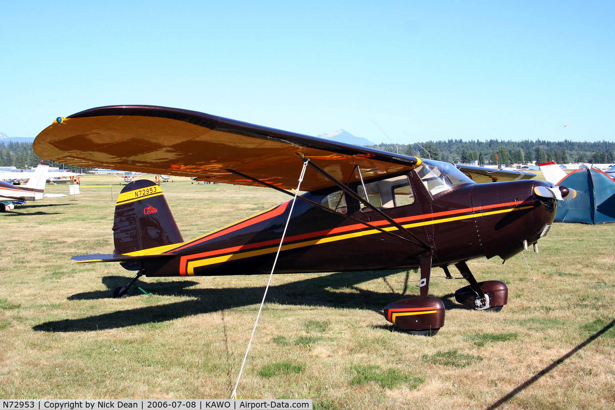 N72953, Cessna 140 C/N 10151, /