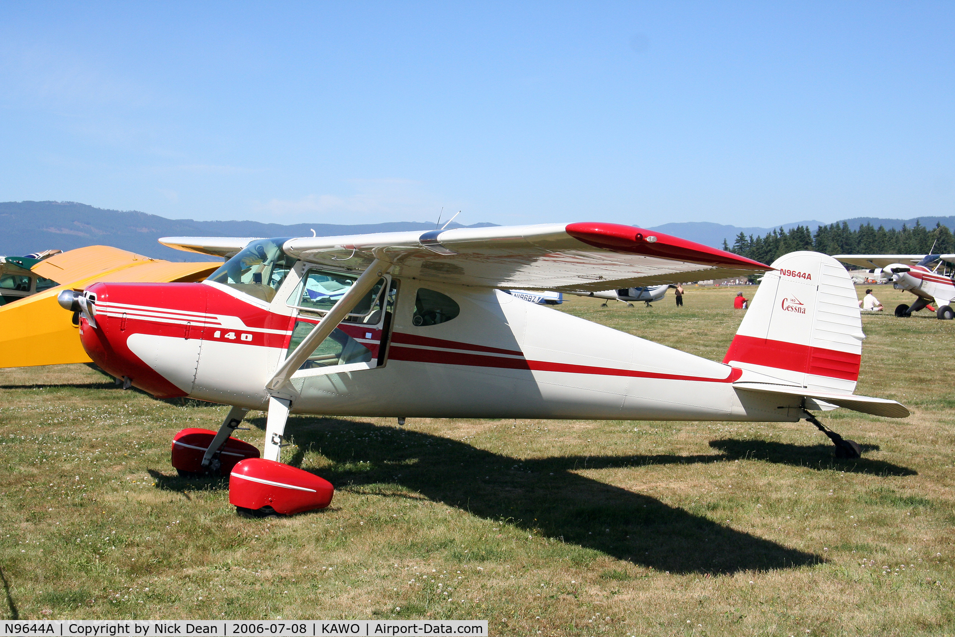 N9644A, 1950 Cessna 140A C/N 15478, /