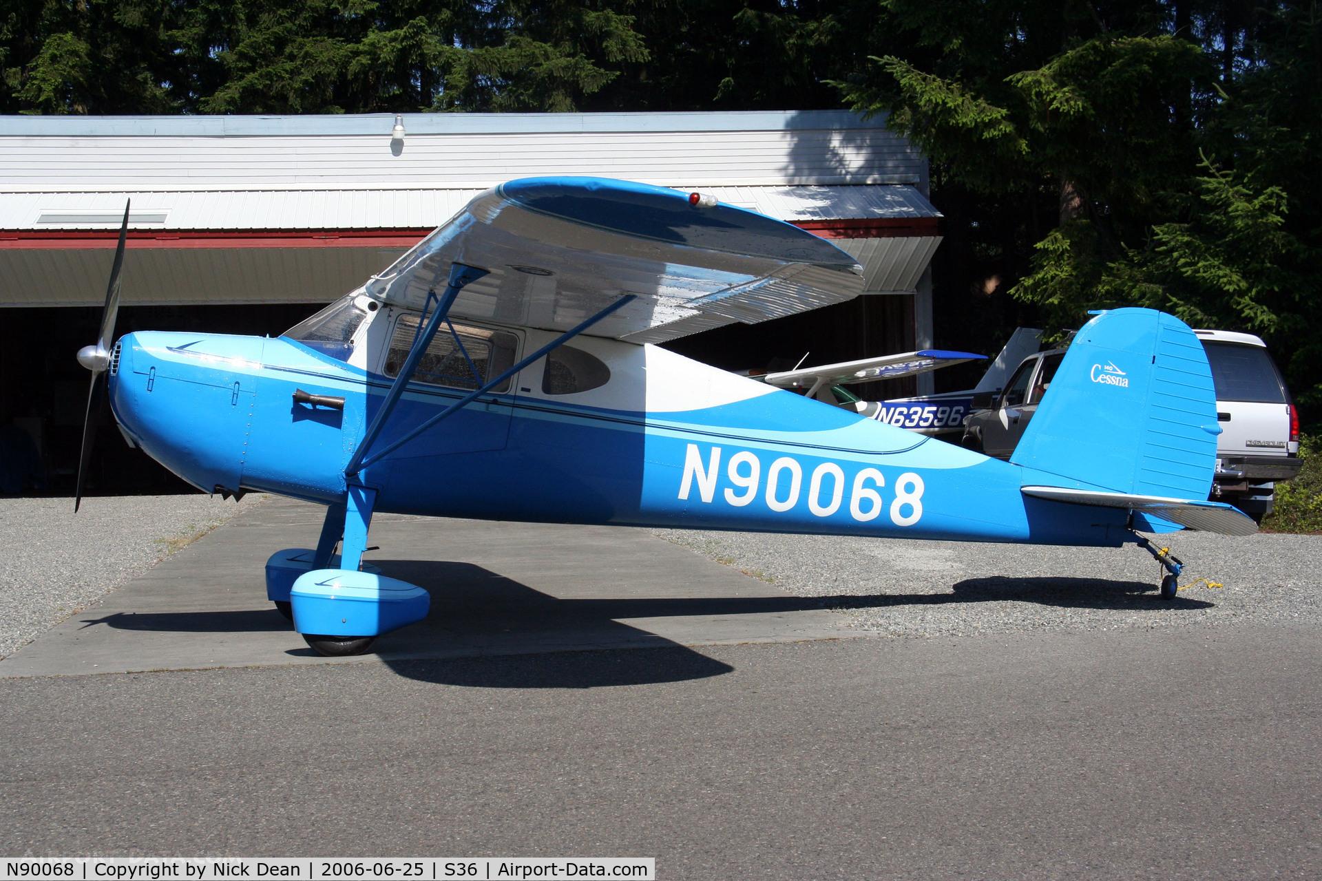 N90068, 1946 Cessna 140 C/N 9129, /