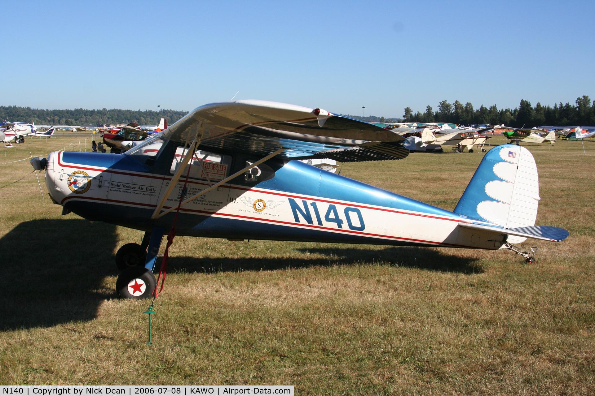 N140, 1947 Cessna 140 C/N 12681, /