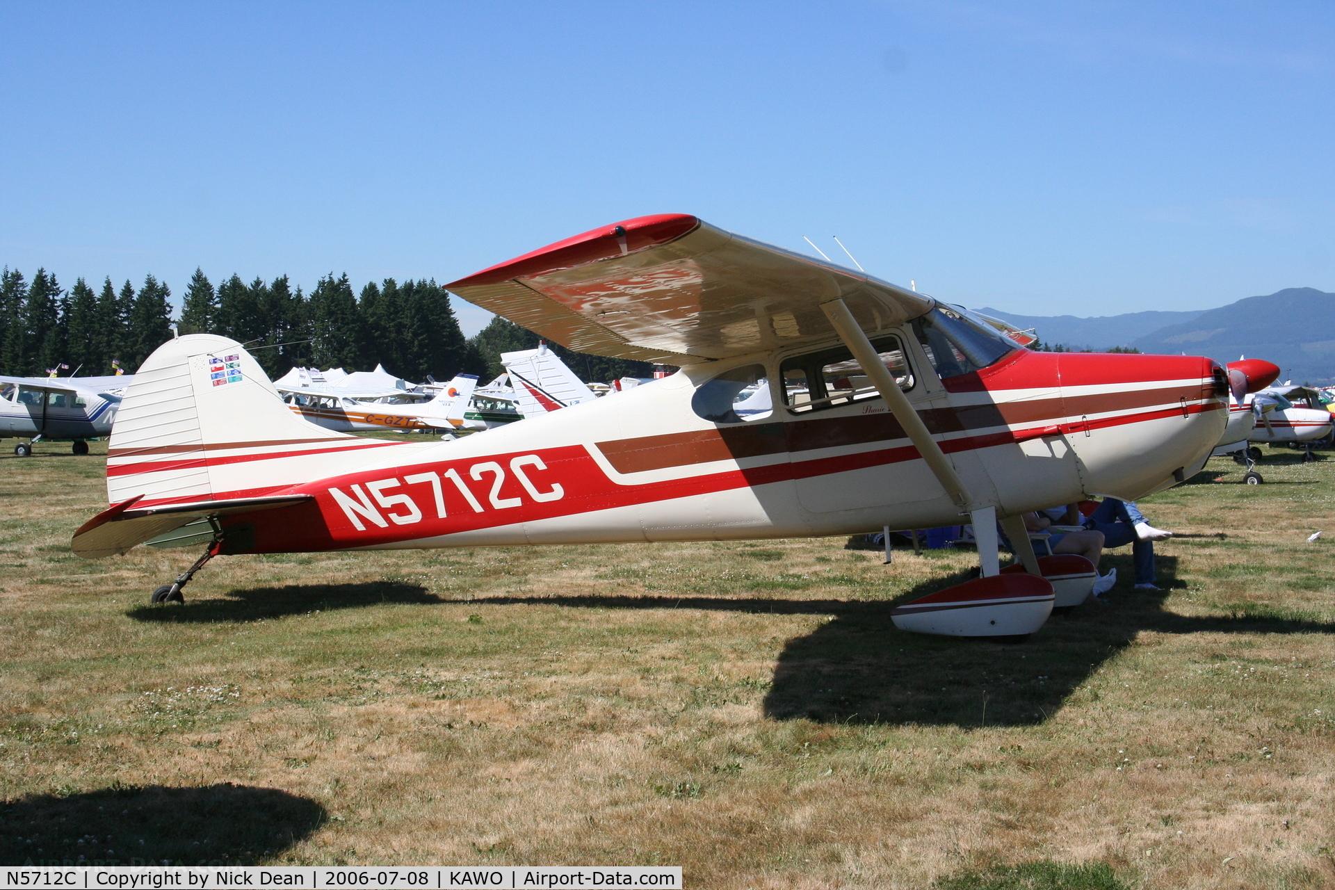 N5712C, 1950 Cessna 170A C/N 19666, /