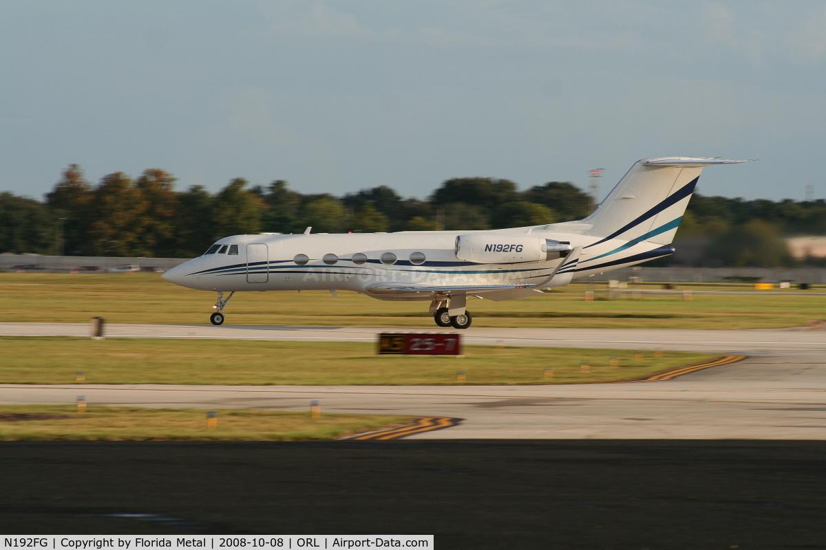 N192FG, 1993 Grumman G-1159 C/N 192, Gulfstream II