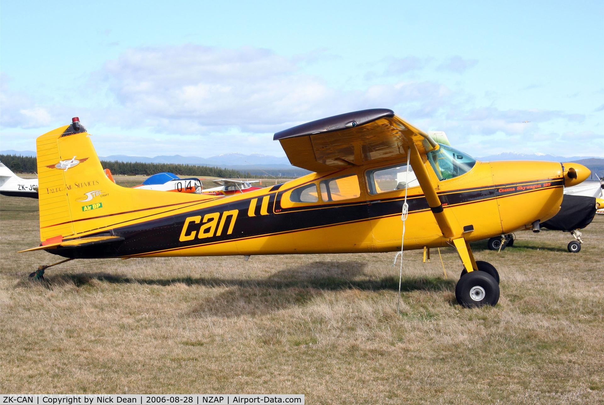 ZK-CAN, Cessna 185 Skywagon C/N 185-0134, /