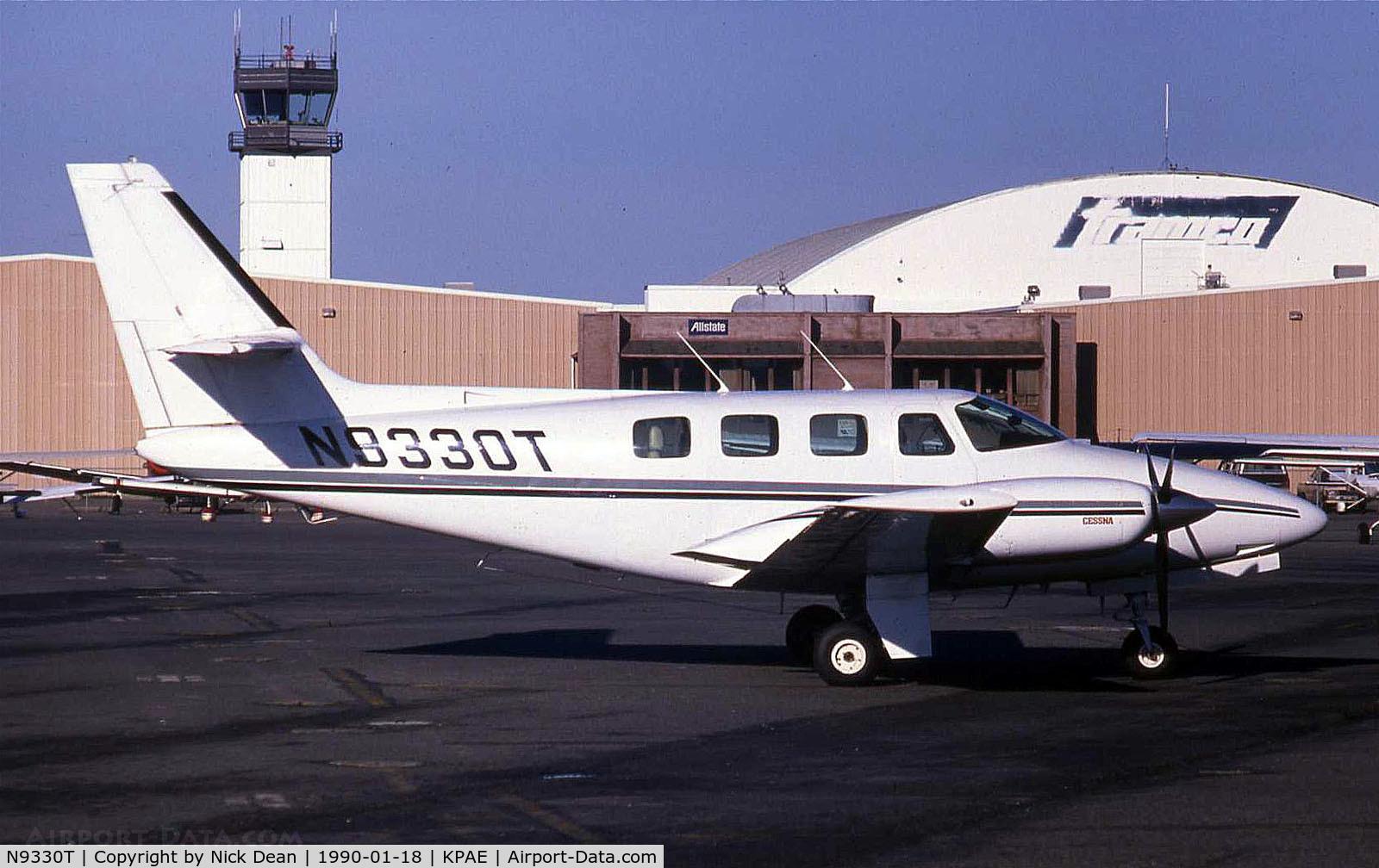 N9330T, 1981 Cessna T303 Crusader C/N T30300002, /