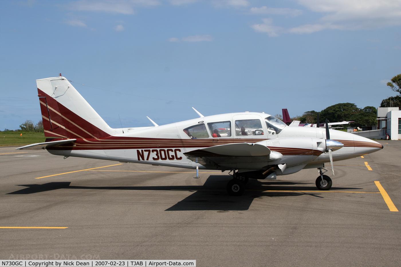 N730GC, Piper PA-23-250 C/N 277305059, .