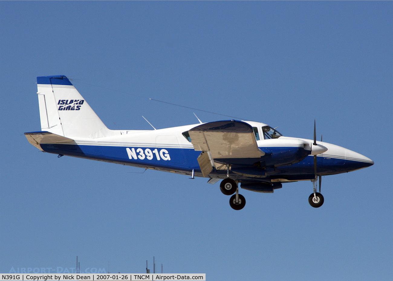 N391G, 1974 Piper PA-23-250 Aztec C/N 27-7405475, .