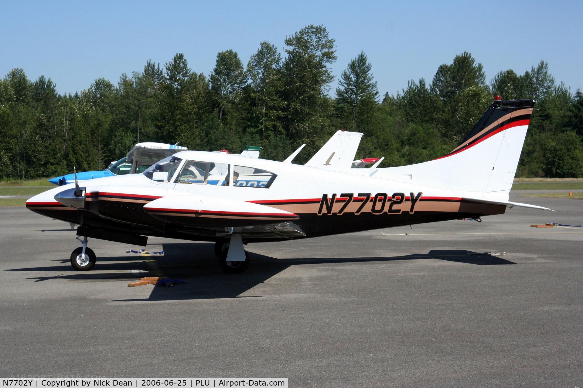 N7702Y, 1965 Piper PA-30 C/N 30-788, /