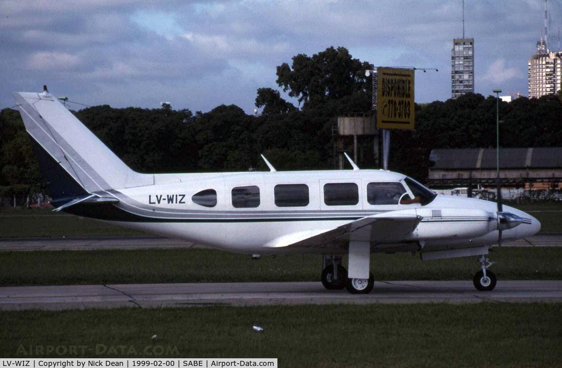 LV-WIZ, Piper PA-31-310 Navajo C/N 31-611, /