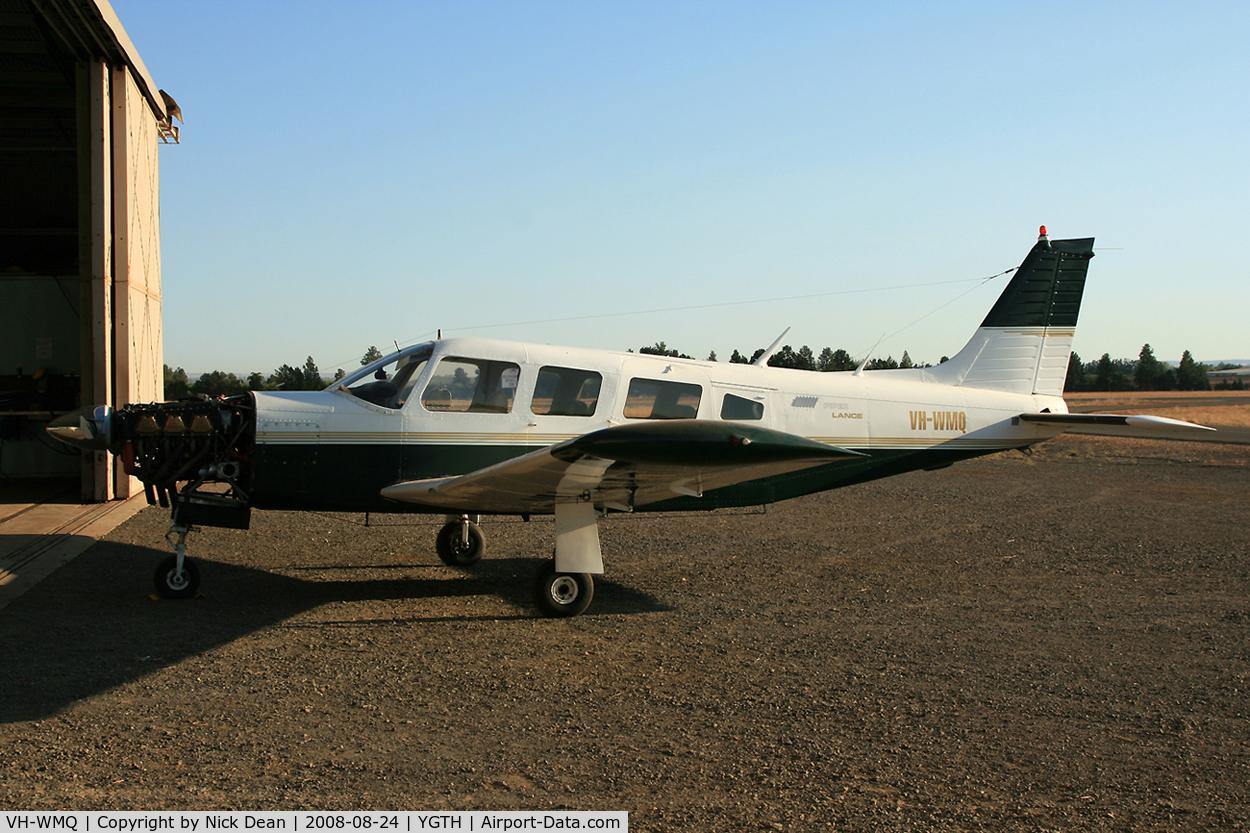 VH-WMQ, 1976 Piper PA-32R-300 Cherokee Lance C/N 32R-7680135, /