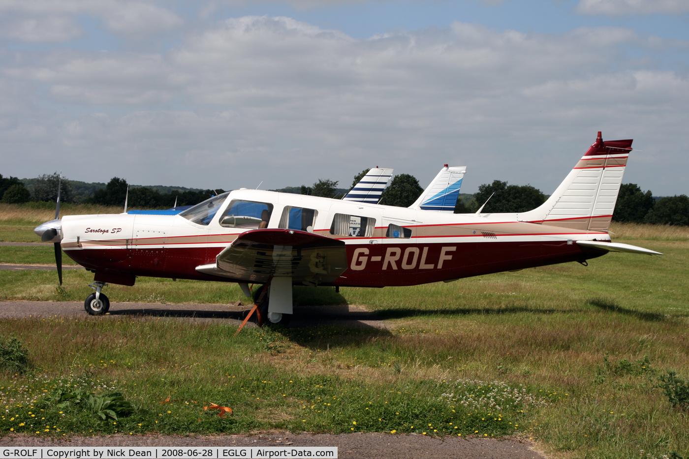 G-ROLF, 1980 Piper PA-32R-301 Saratoga SP C/N 32R-8113018, /