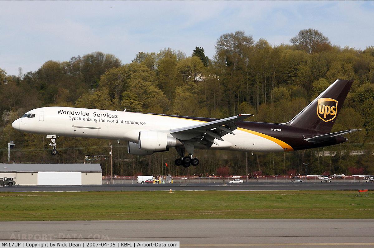 N417UP, 1990 Boeing 757-24APF C/N 23904, /