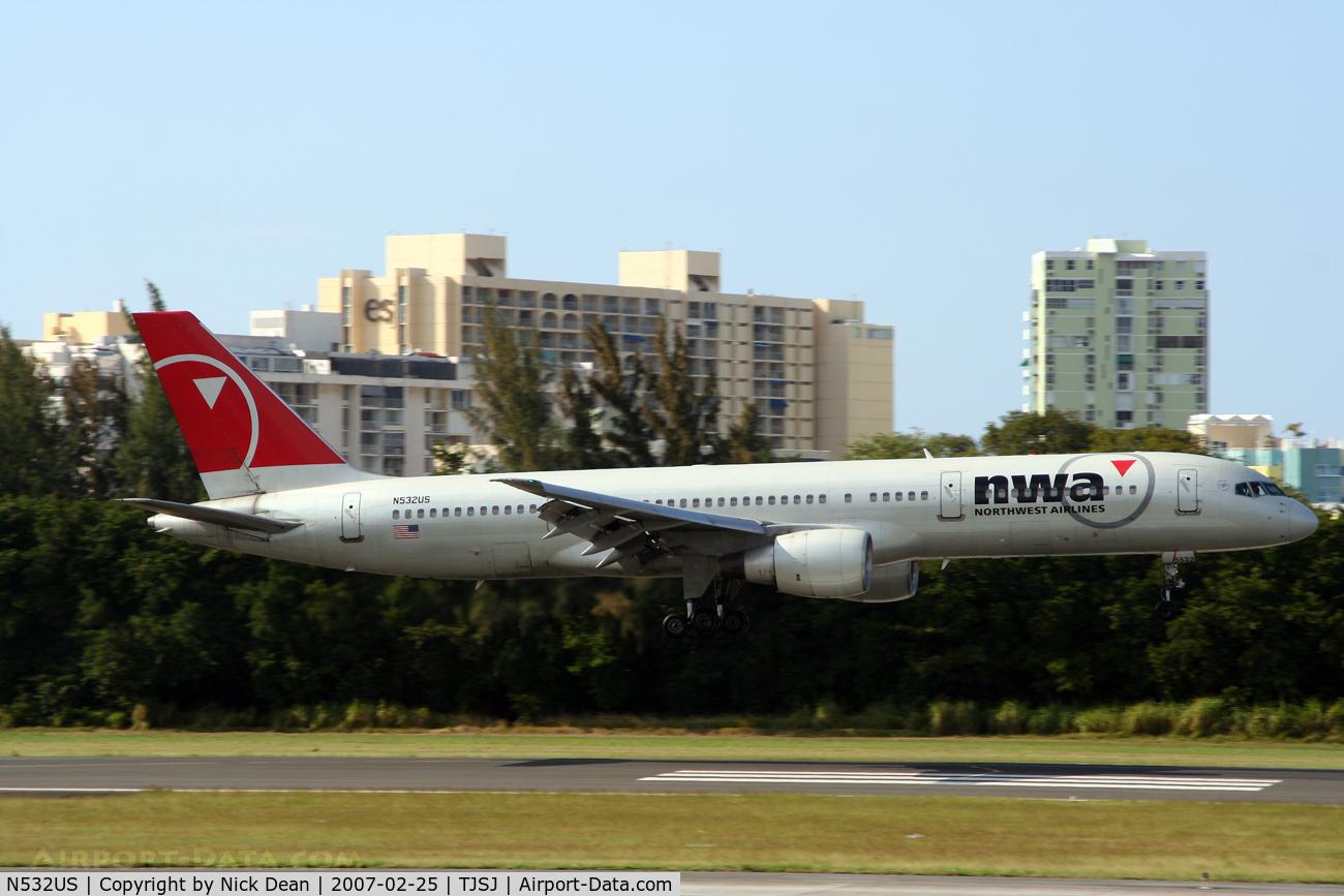 N532US, 1988 Boeing 757-251 C/N 24263, /