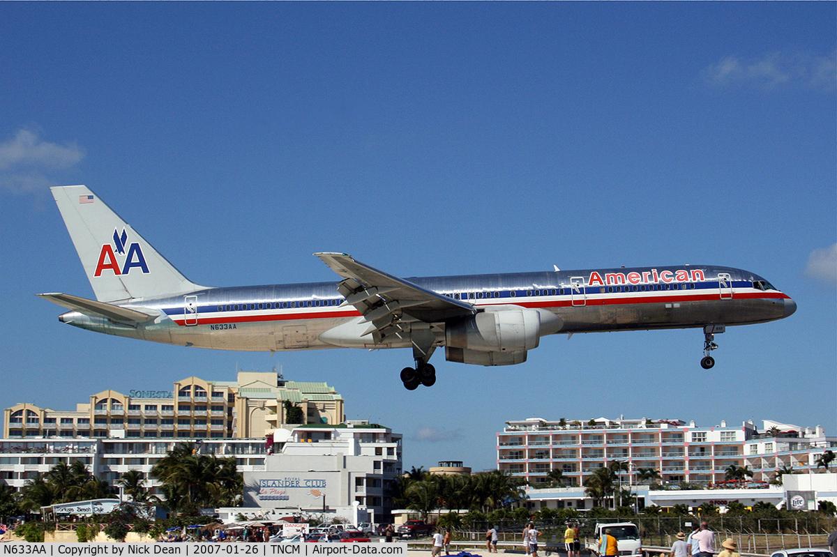 N633AA, 1990 Boeing 757-223 C/N 24591, /