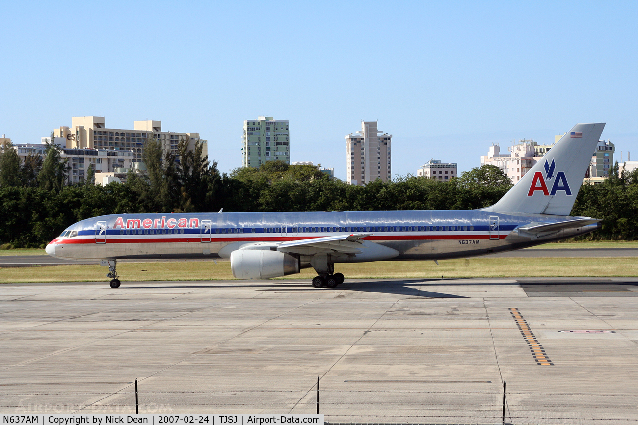 N637AM, 1991 Boeing 757-223 C/N 24595, /