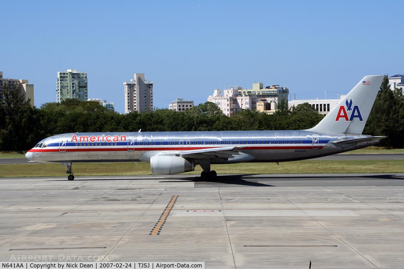 N641AA, 1991 Boeing 757-223 C/N 24599, /