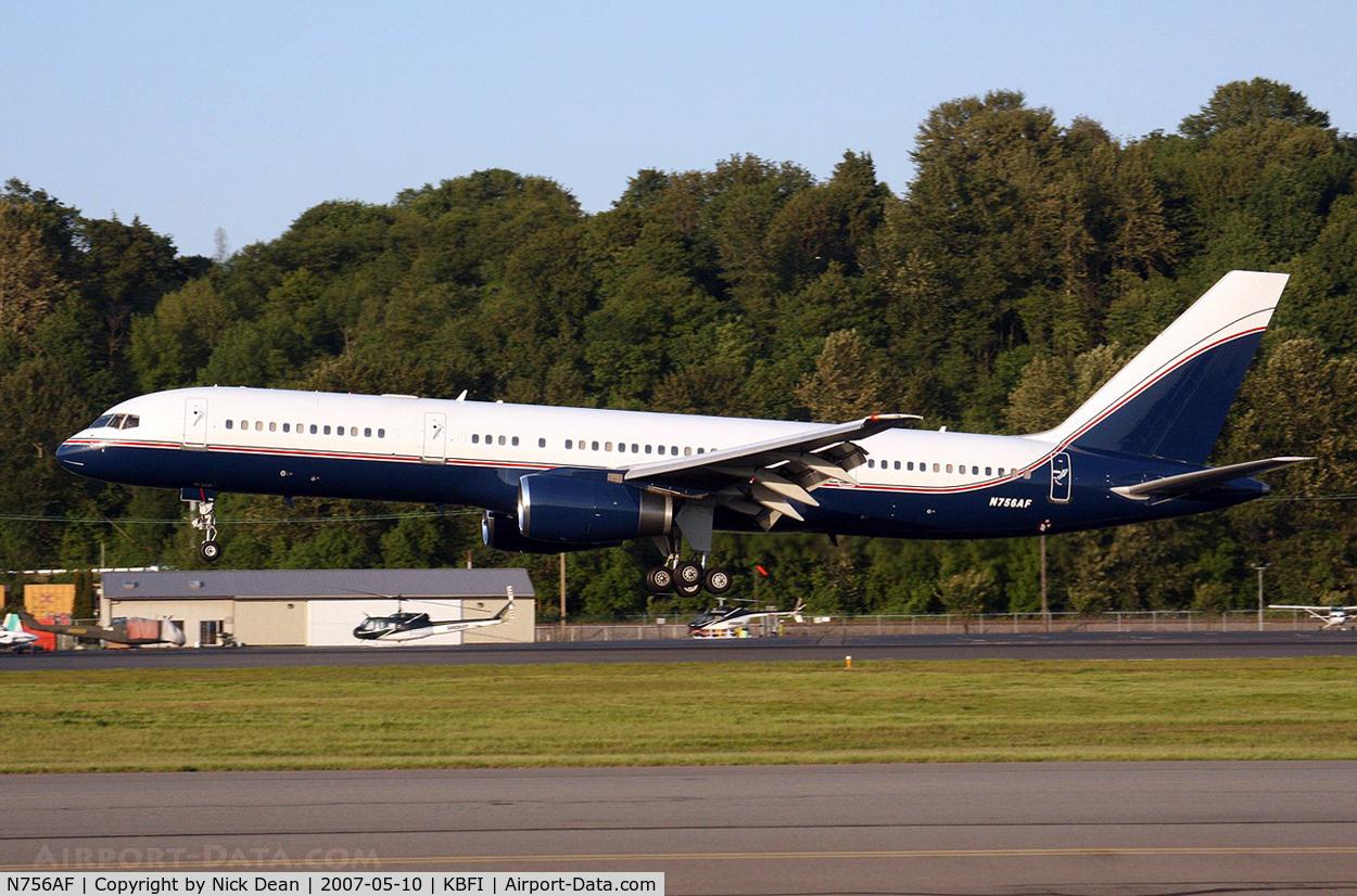 N756AF, 1991 Boeing 757-23A C/N 24923, .