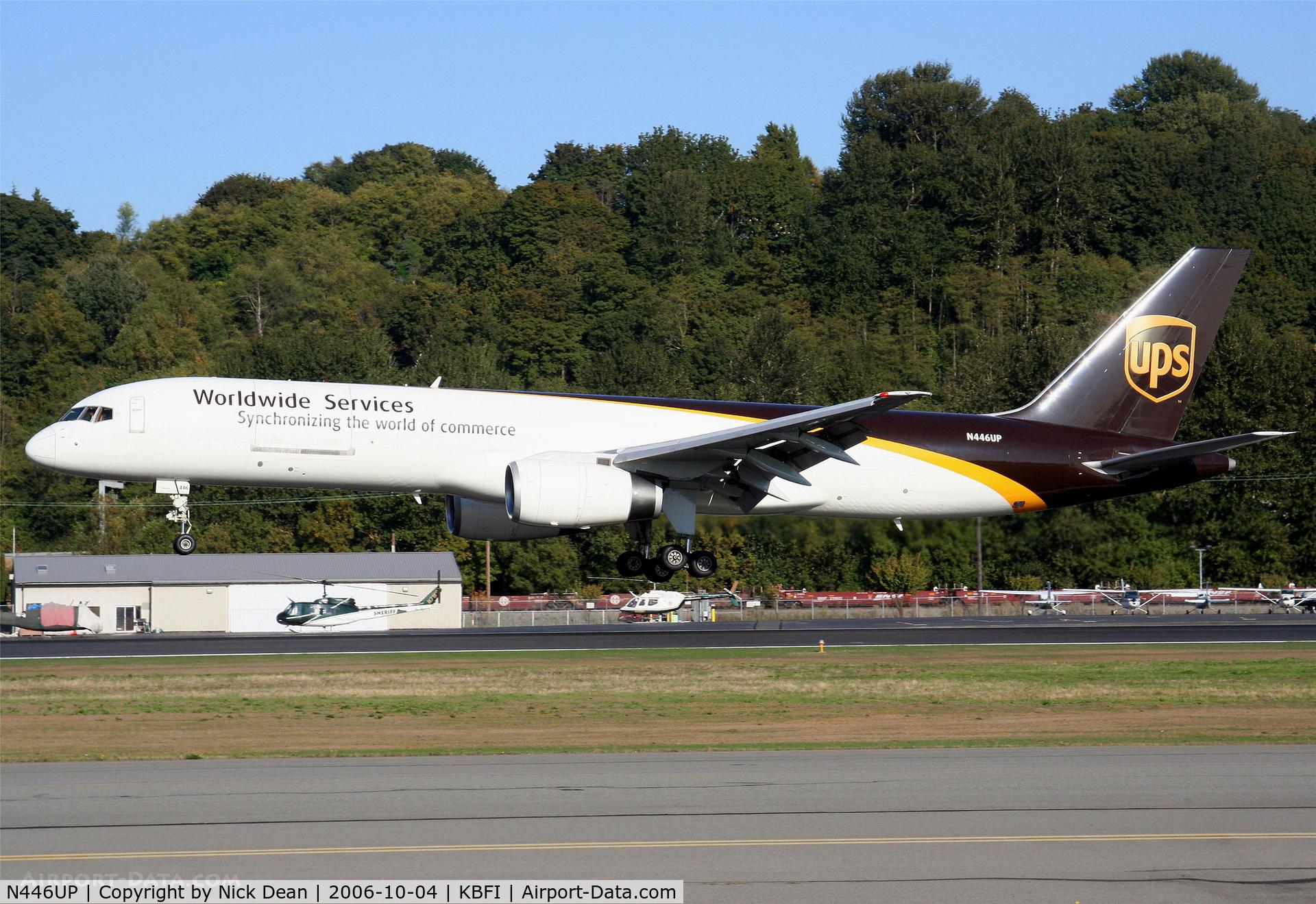 N446UP, 1994 Boeing 757-24APF C/N 27735, /