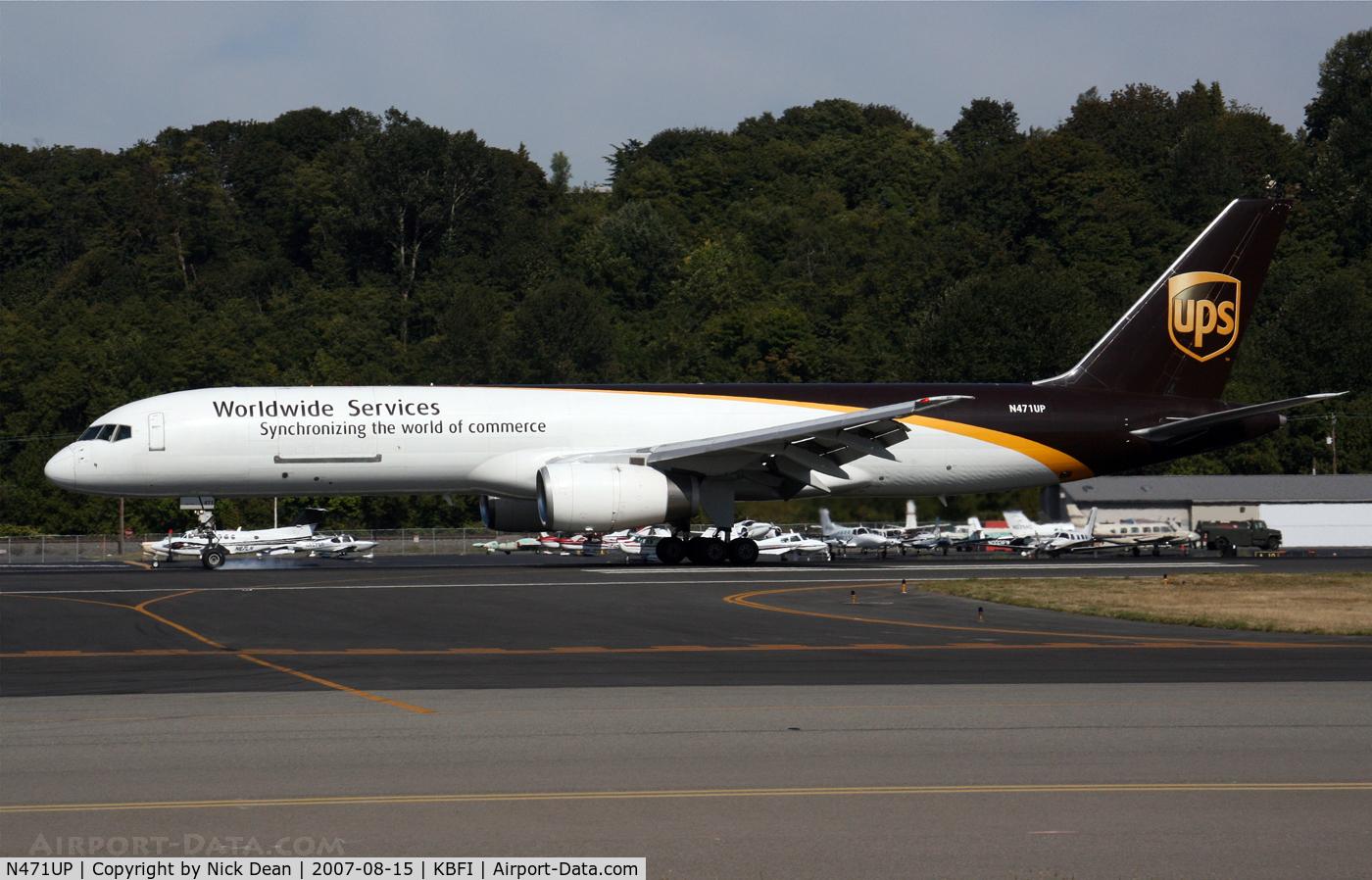 N471UP, 1998 Boeing 757-24APF C/N 28842, /