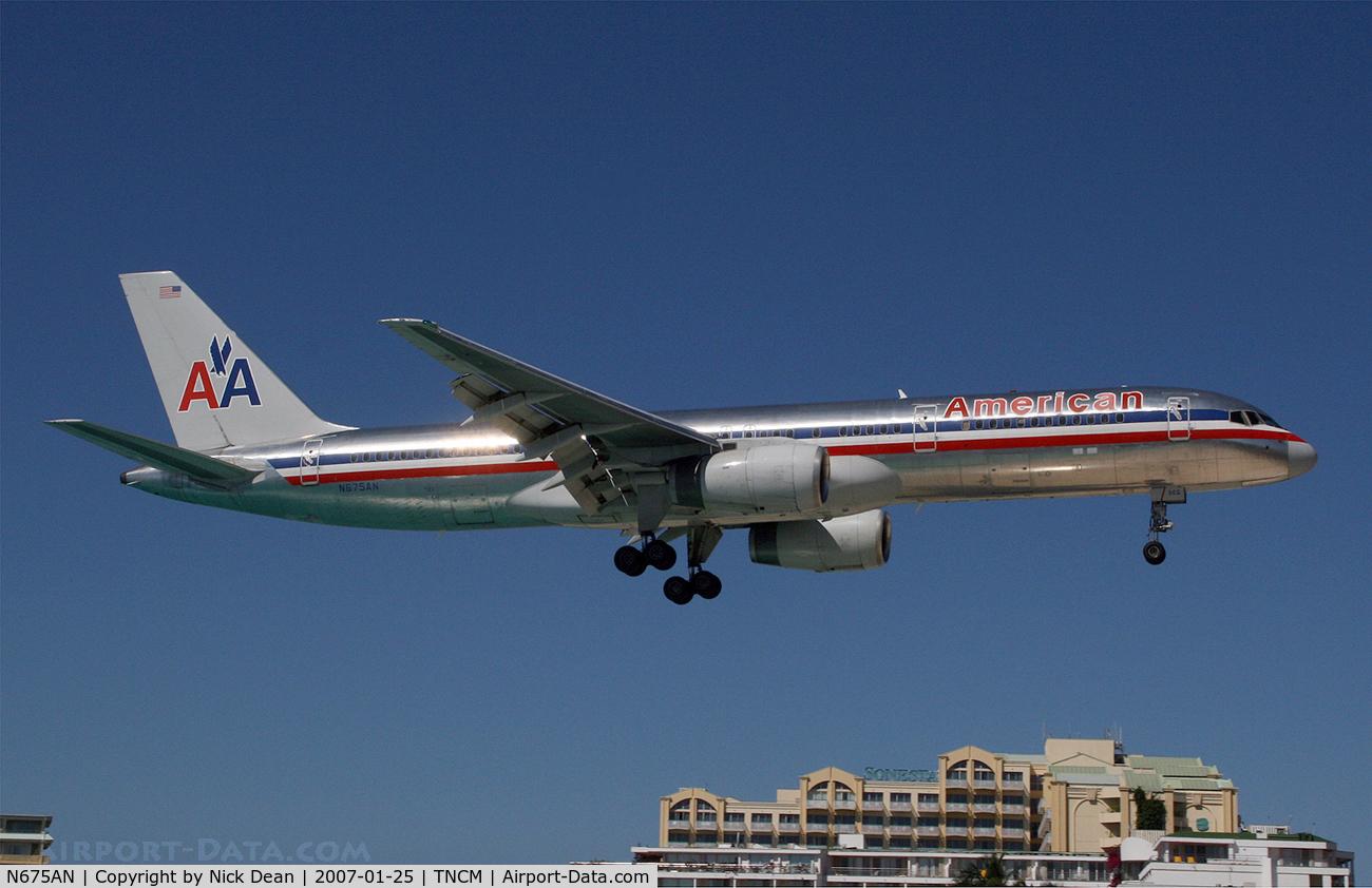 N675AN, 1998 Boeing 757-223 C/N 29425, /