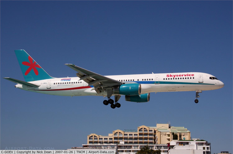 C-GOEV, 1999 Boeing 757-236 C/N 29943, /