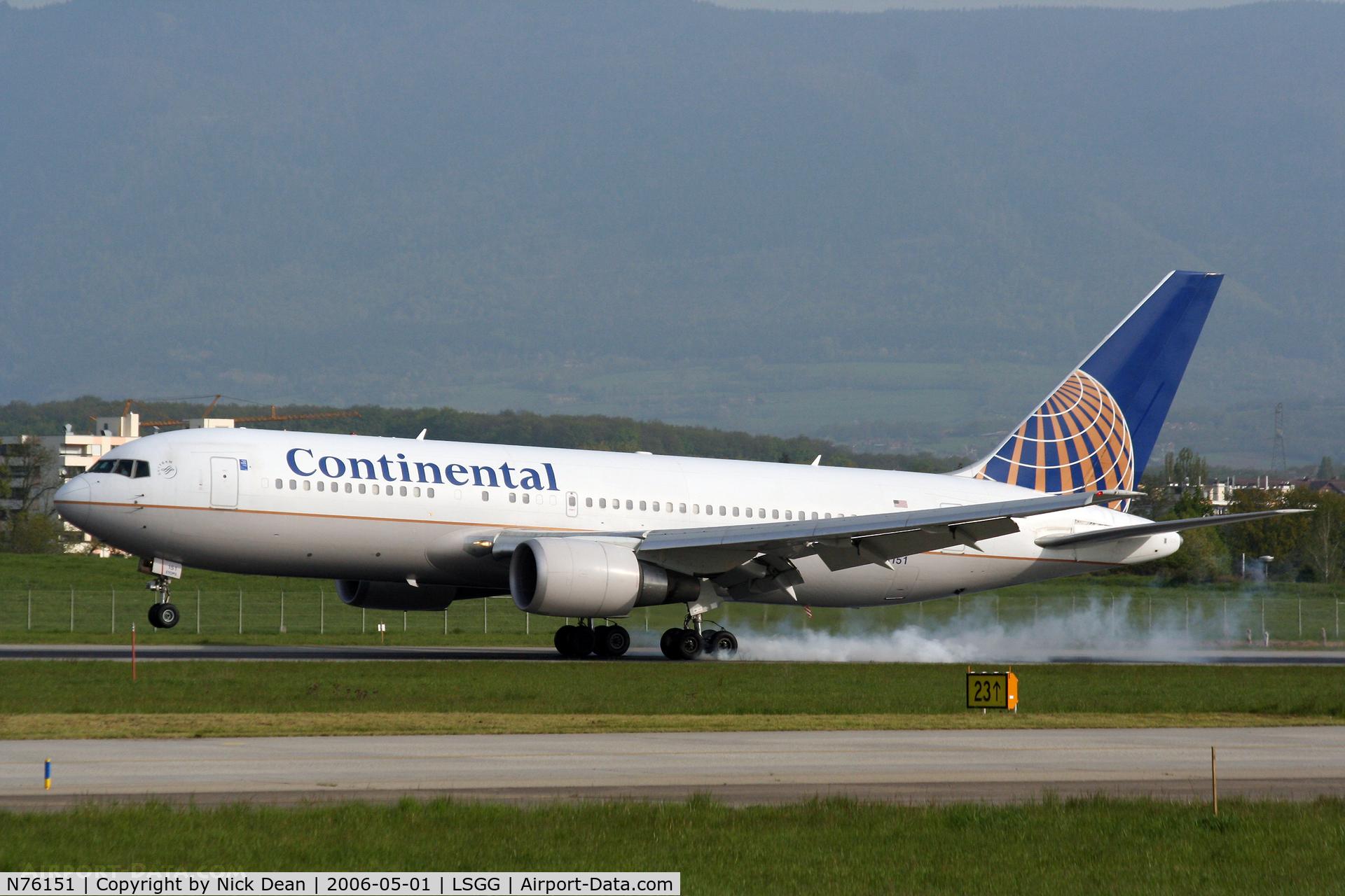 N76151, 2000 Boeing 767-224 C/N 30430, /
