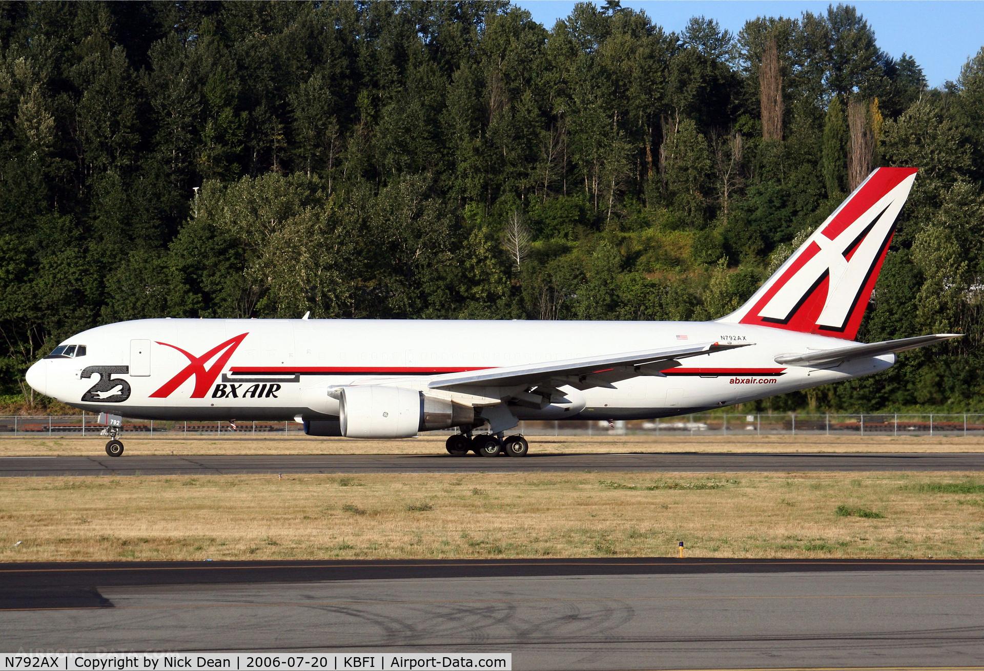 N792AX, 1986 Boeing 767-200 C/N 23142, /