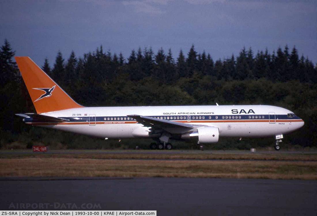 ZS-SRA, 1993 Boeing 767-2B1/ER C/N 26471/511, /