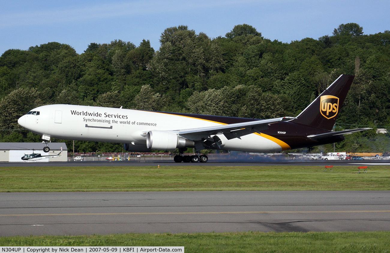 N304UP, 1995 Boeing 767-34AFER C/N 27242, /