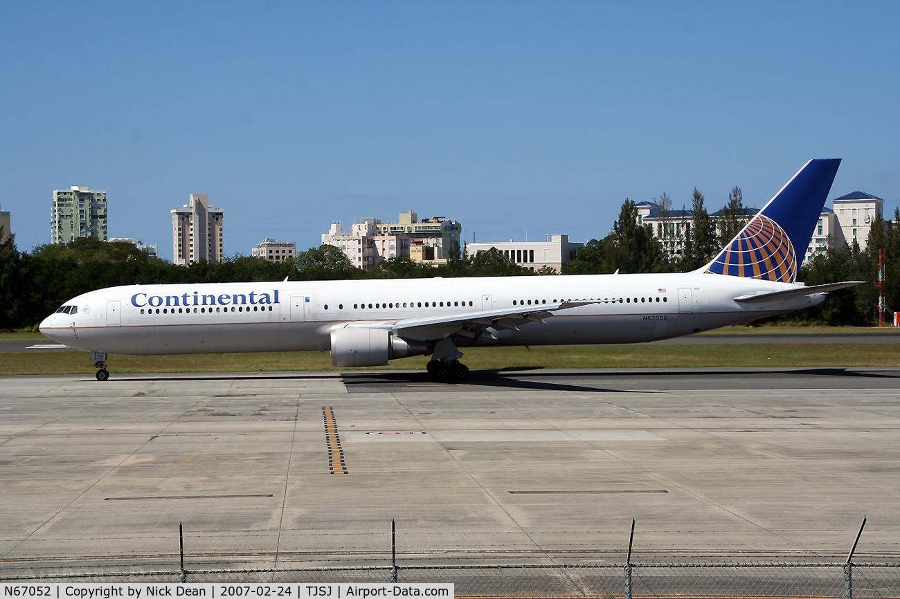 N67052, 2000 Boeing 767-424/ER C/N 29447, /