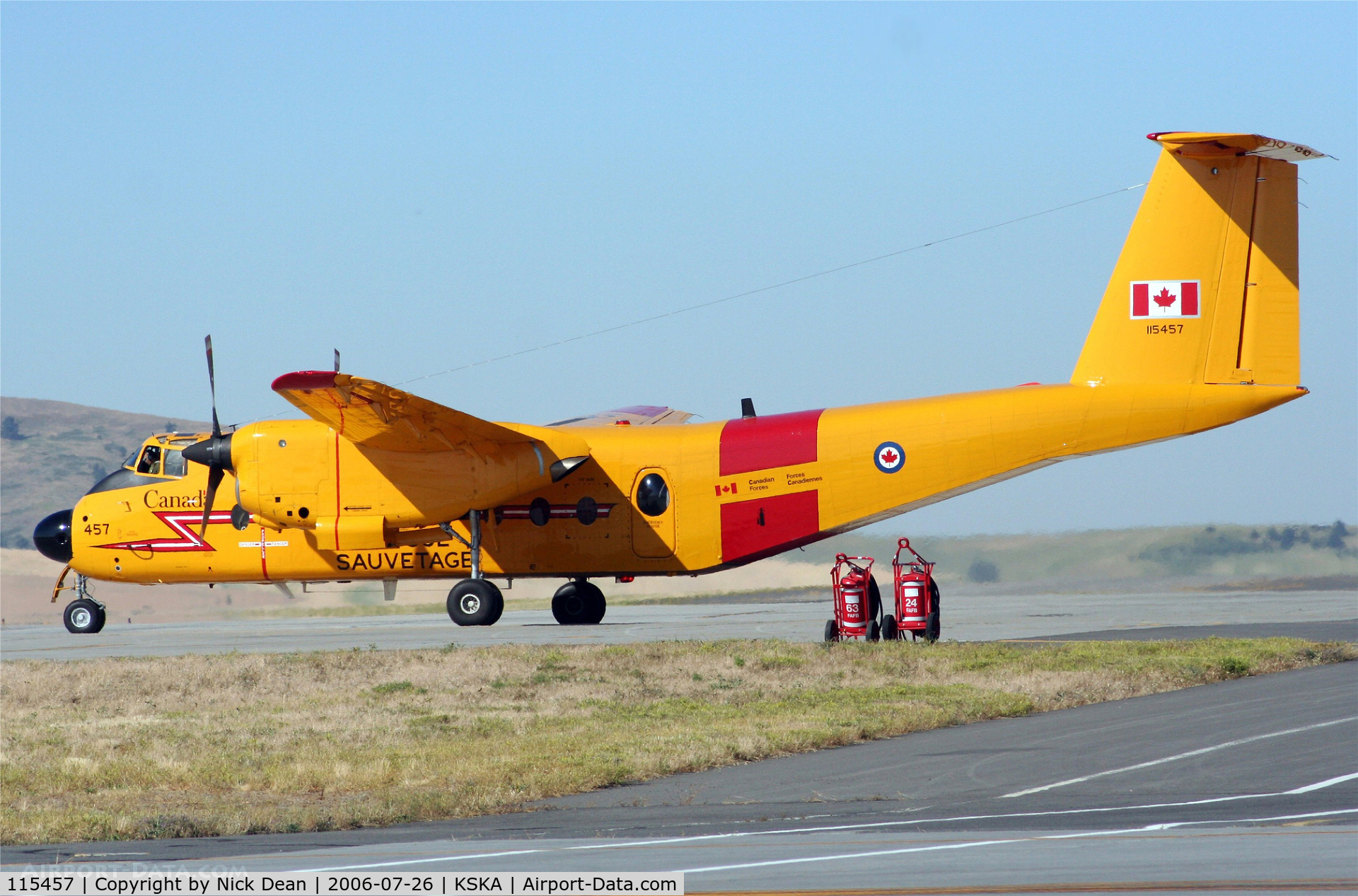 115457, 1967 De Havilland Canada CC-115 Buffalo C/N 11, /