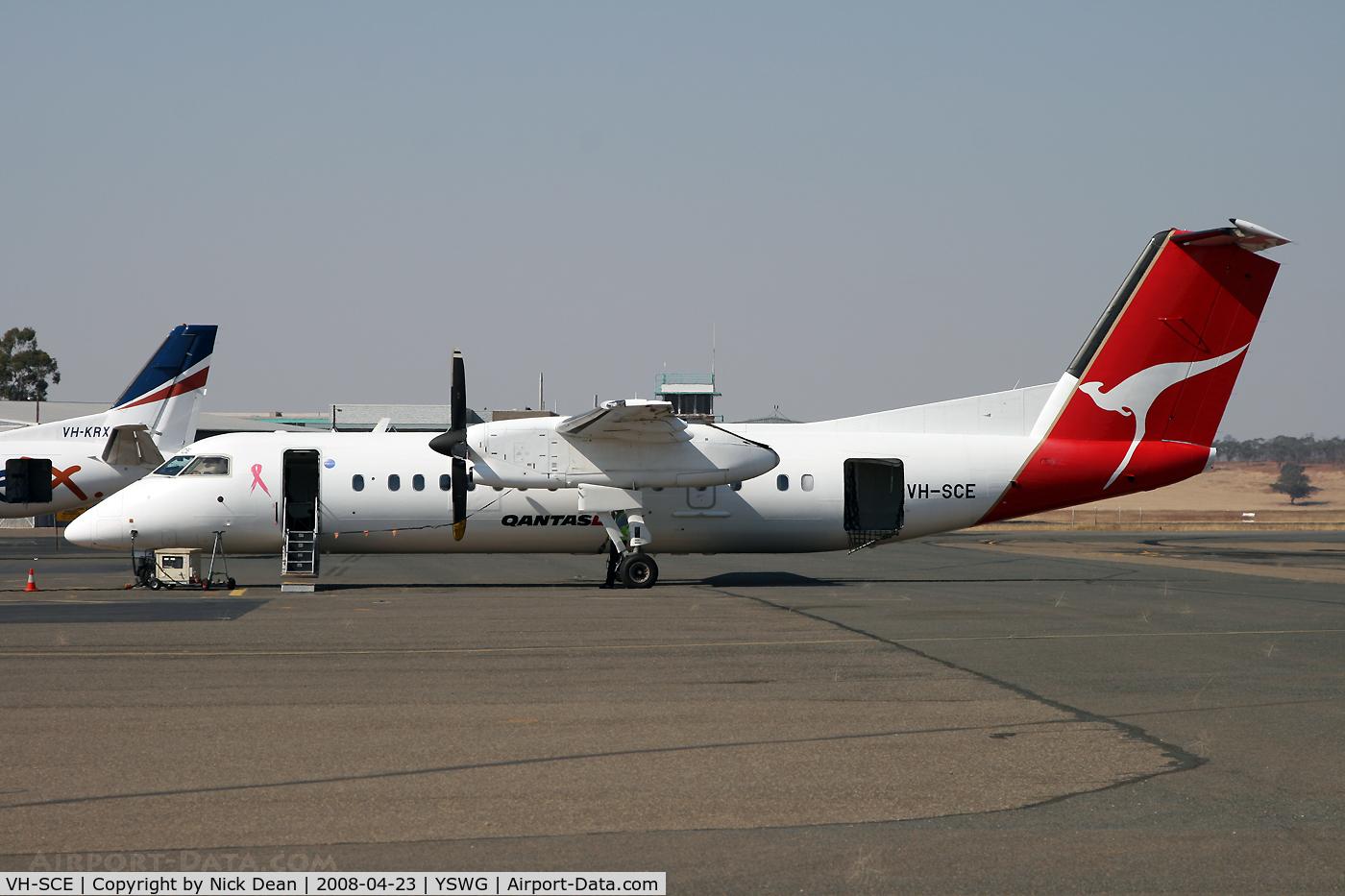 VH-SCE, 2004 De Havilland Canada DHC-8-315Q Dash 8 C/N 602, /