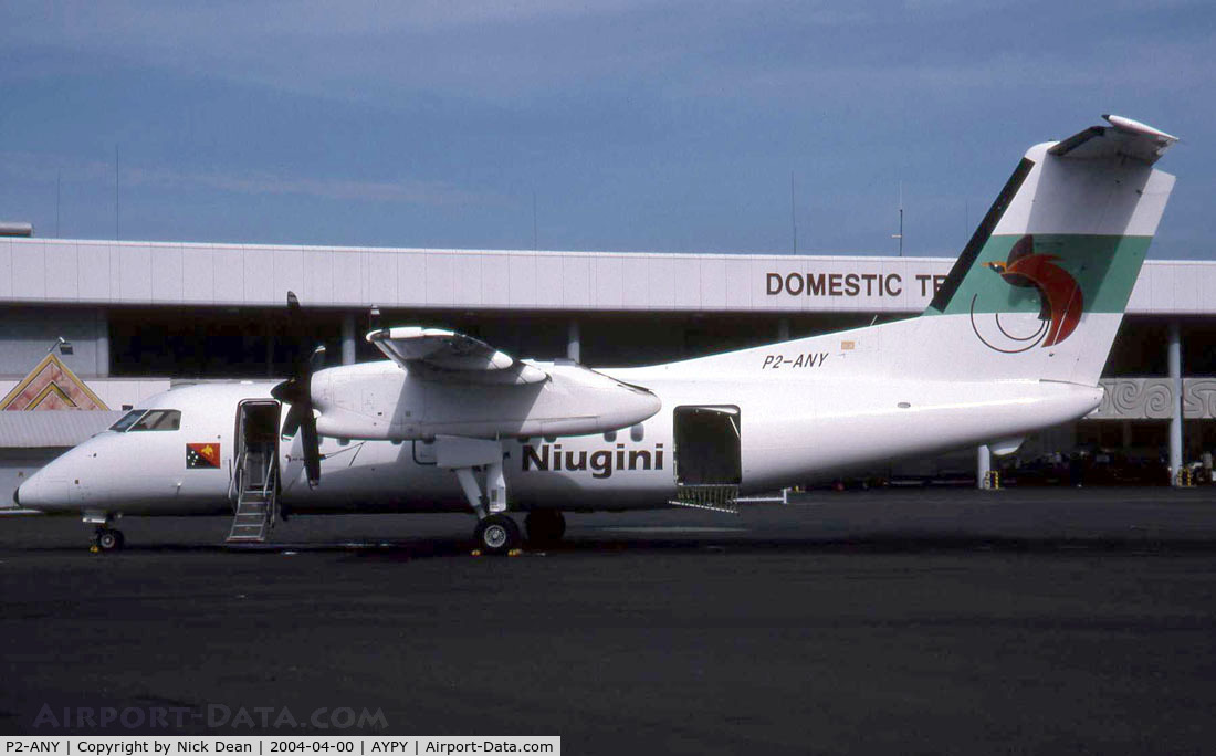 P2-ANY, 1999 De Havilland Canada DHC-8-202 Dash 8 C/N 536, Taken during the ramp tour of Port Moresby
