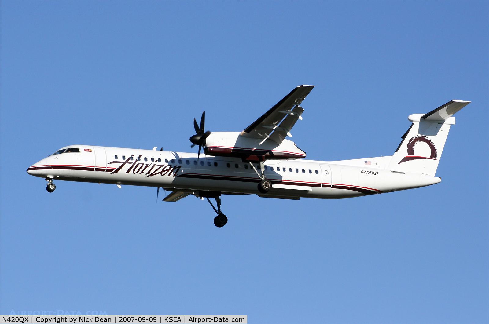 N420QX, 2007 Bombardier DHC-8-402 Dash 8 C/N 4147, .