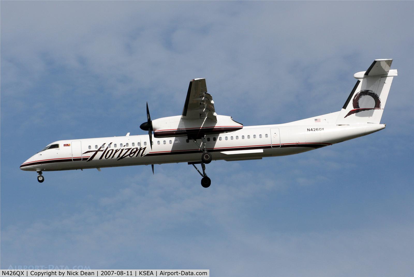 N426QX, 2007 Bombardier DHC-8-402 Dash 8 C/N 4154, /