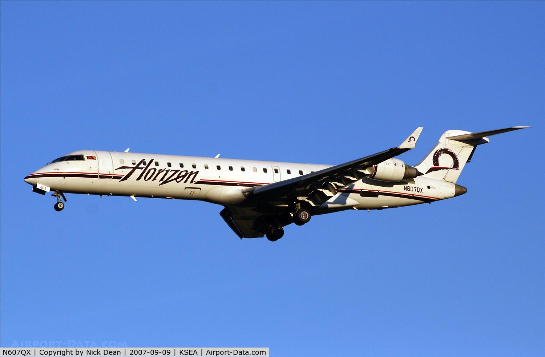 N607QX, 2001 Bombardier CRJ-701 (CL-600-2C10) Regional Jet C/N 10024, /