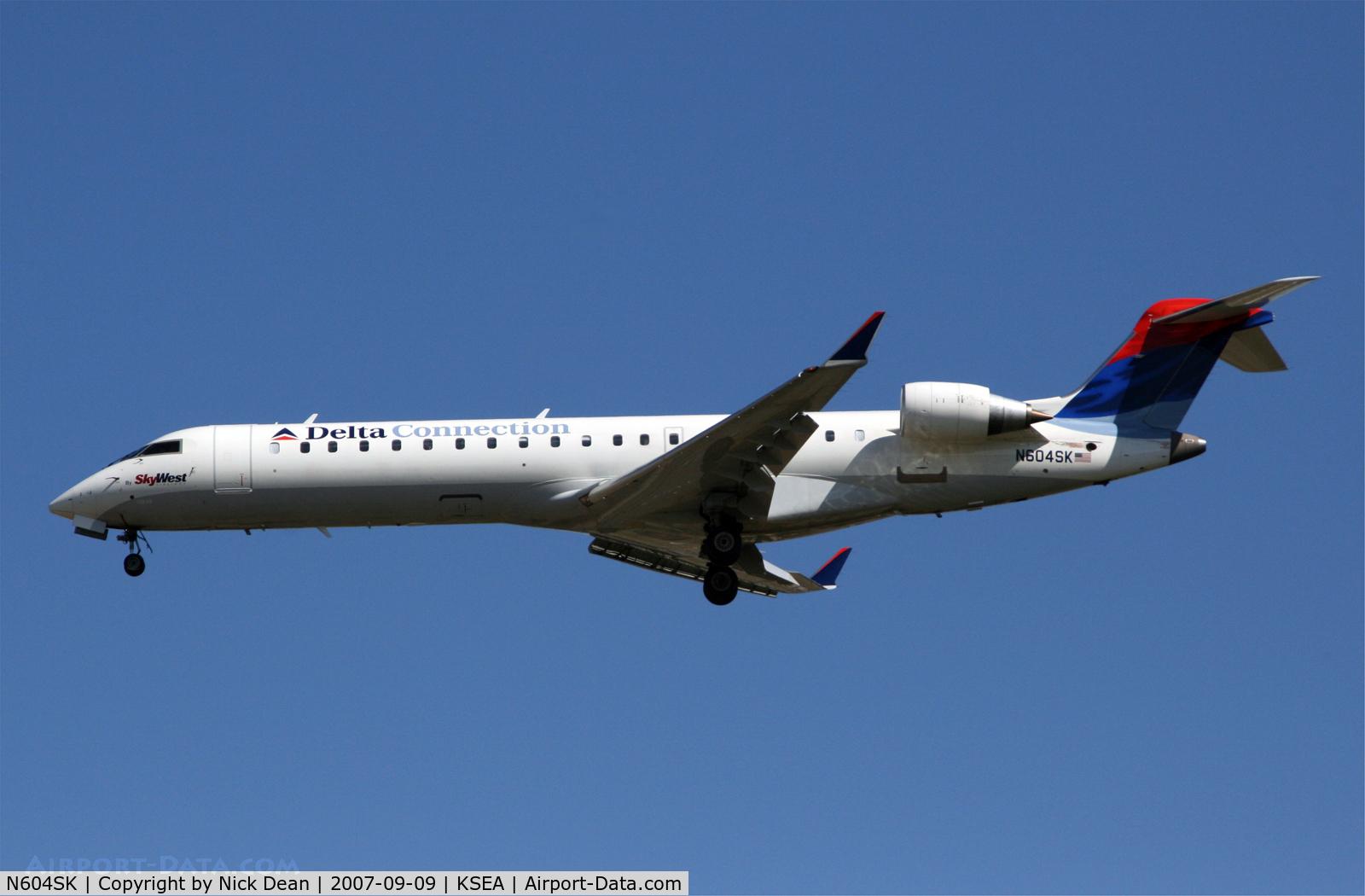 N604SK, 2006 Bombardier CRJ-702 (CL-600-2C10) Regional Jet C/N 10249, /